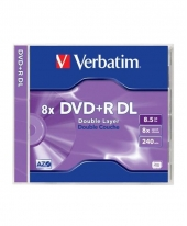 Verbatim DVD+R Dual Layer(DL) 8.5GB 8x [Jewel]